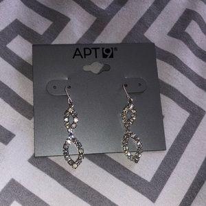 Apt 9 Dangling Crystal Earrings
